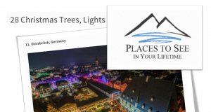 Places you have to see - der Weihnachtsmarkt