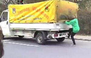 Truck Surfen, Quelle: YouTube
