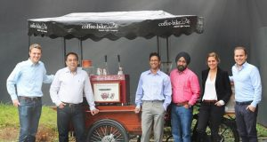 Coffee-Bike Partner aus Indien