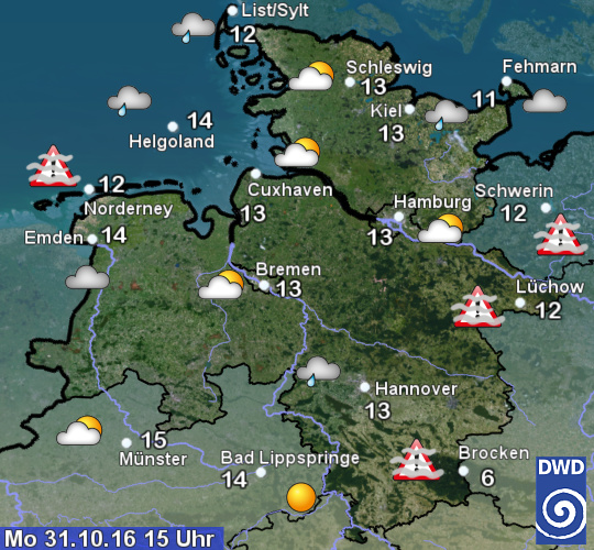 Wetter Aktuell OsnabrГјck