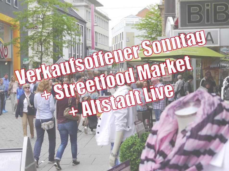 verkaufsoffener sonntag in osnabr ck mit streetfood market. Black Bedroom Furniture Sets. Home Design Ideas