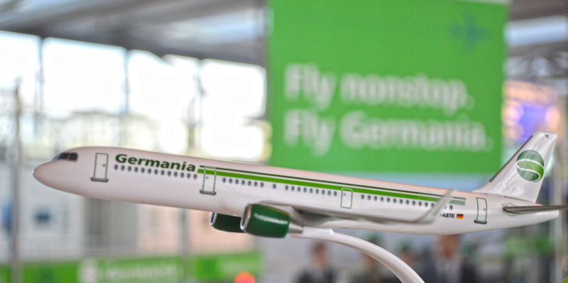 Airbus A321, Germania, FMO