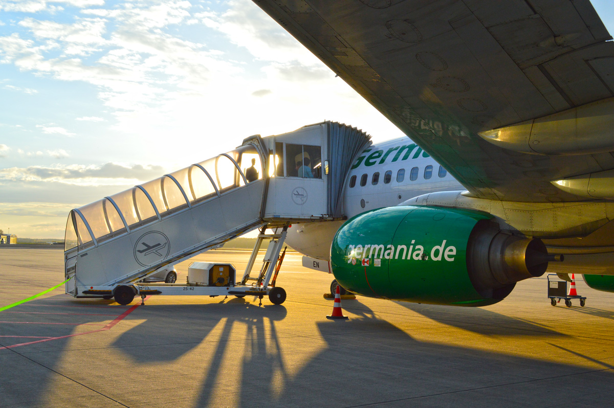 Germania Boeing 737, FMO