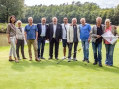 Das Team vom Charity-Golf Turnier 2018